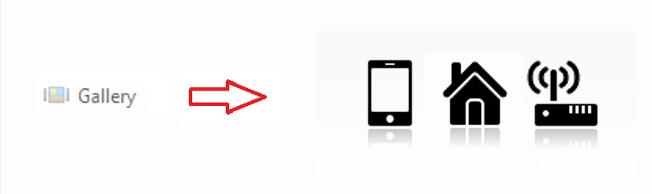 Ejemplo de control Gallery en App Android