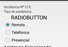 Ejemplo Con RadioButtom En Nuestra Aplicación Android