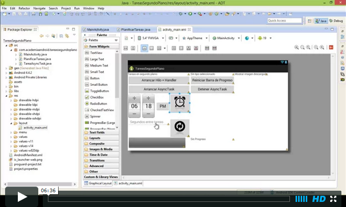 Video Proyecto Android Con AlarmManager