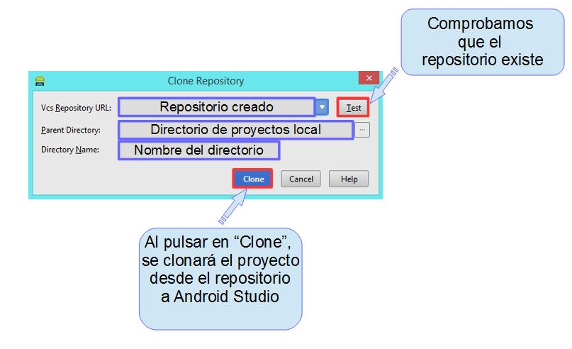 Clonar repositorio