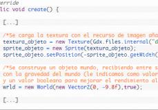 Código Del Proyecto LibGDX Con Box2D