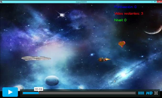 Imagen Video Libgdx