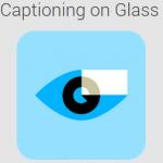 Logo Captioning on Glass