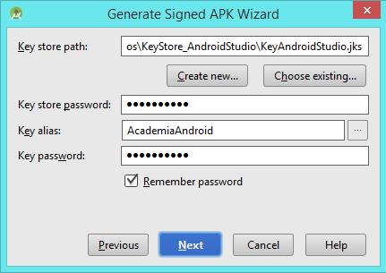 Key Store APK (II)