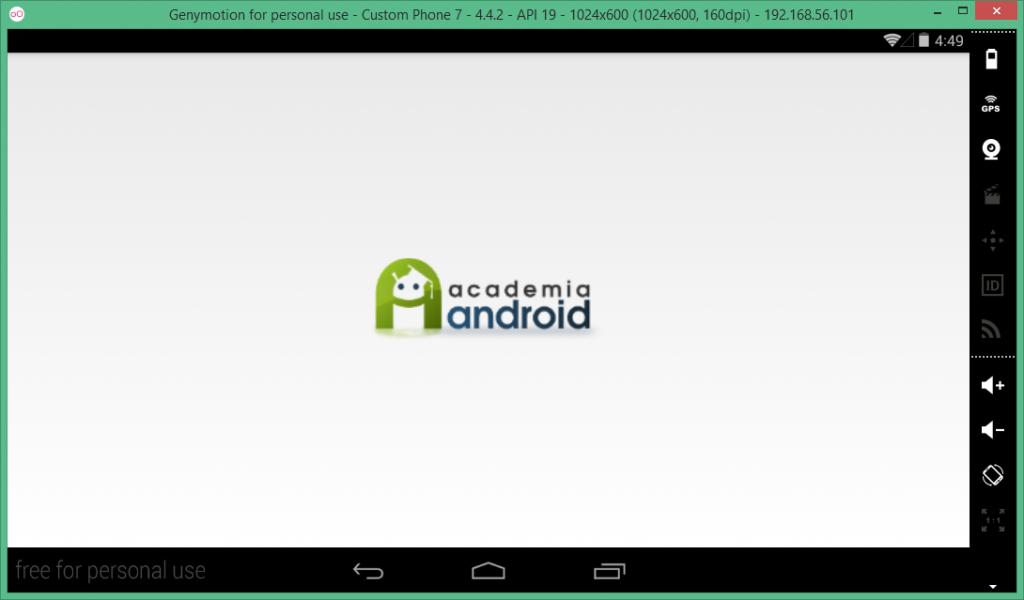 Screen Splash de la App Android