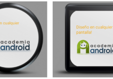 Layout Android Wear Smartwatches