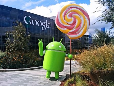 Foto Logo Android Lollipop