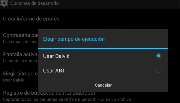 Selección Art O Dalvik