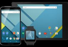 Android Lollipop En Varias Pantallas