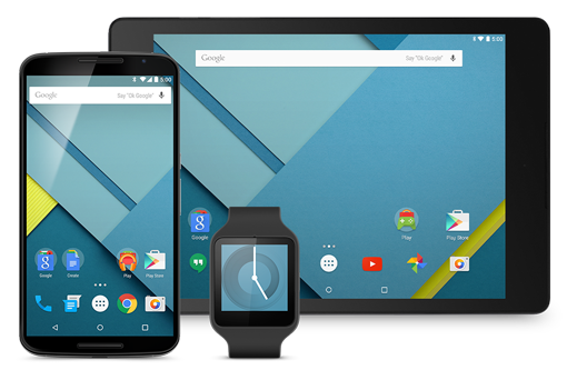 Android Lollipop En Varias Pantallas