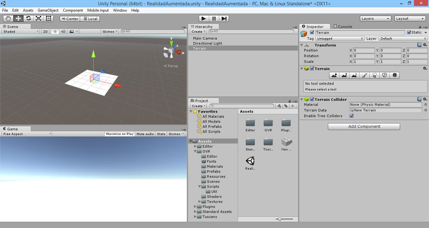 Terrain en Unity 3D
