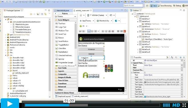Imagen Video SyncAdapter