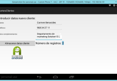 Main Activity Proyecto Android CarteraClientes