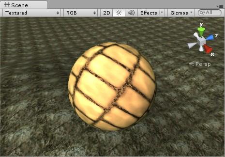 Nuevo Material Sphere