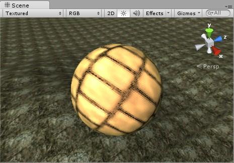 Sphere Offset Y 100000