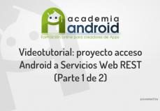 Caratula Video Android Servicios Web RESTful Parte 1