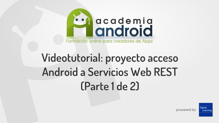 Caratula Video Android Servicios Web RESTful Parte 1
