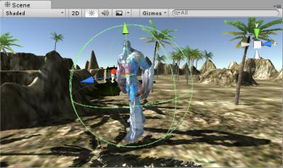 Creando escena Unity 3D