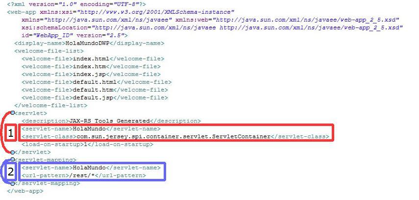 Web XML Servlet