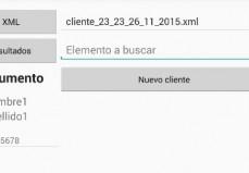 Pantalla Carga Y Parseo XML App Android