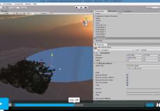 Escena Video Proyecto Unity