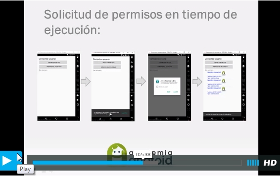 Caratula Video Android 6.0