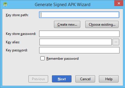 Pantalla Key Store APK