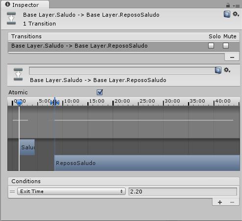 Transición inversa en la animación