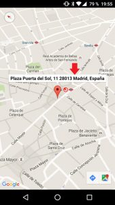 Dirección en Google Maps