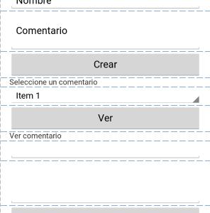 Proyecto ejemplo de App Android con bbdd SQLite