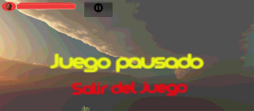 pantalla pausa del juego