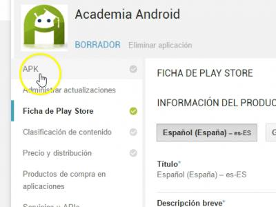 Subir Aplicación Android a la Play Store