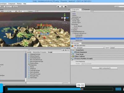 Creación de videojuego en Unity 3D (III): video