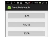 Interfaz App Audio