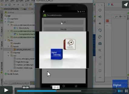 Multimedia Video En Android