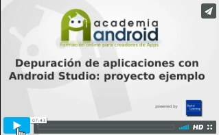 Video Depuración Android Studio