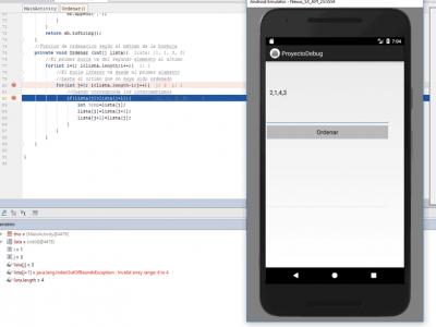 Cómo depurar aplicaciones con Android Studio: proyecto ejemplo