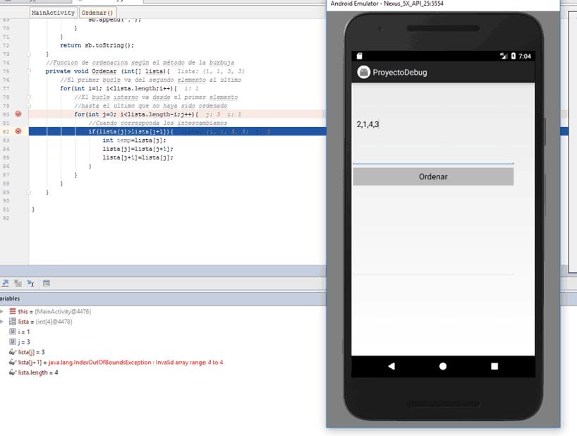 Depurando La App Con Android Studio